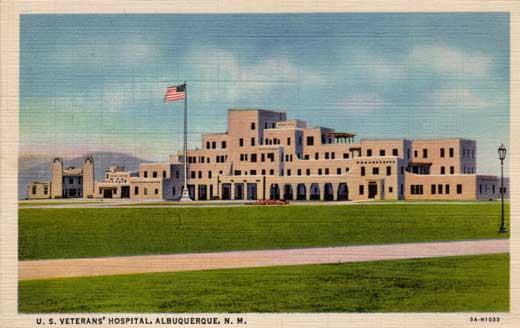 U.S. Veterans' Hospital, Albuquerque, N.M.