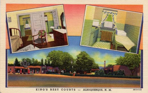 King's Rest Courts – Albuquerque, N. M.