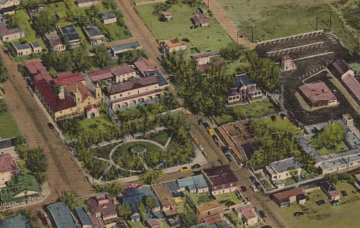 Air View of Old Albuquerque New Mexico