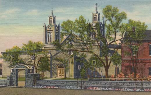 The Church of San Felipe De Neri, On the Plaza, Old Albuquerque, New Mexico