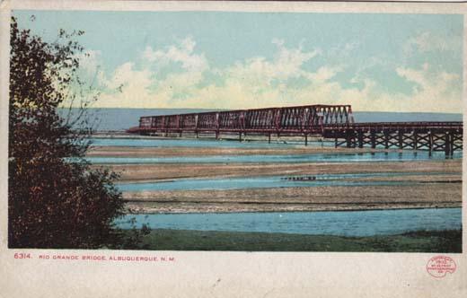 Rio Grande Bridge, Albuquerque, N. M.