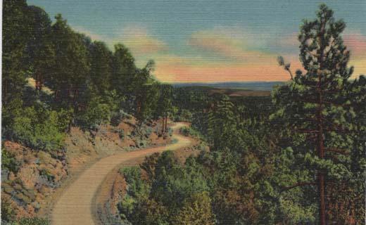 Sandia Loop Road, Near Albuquerque, New Mexico