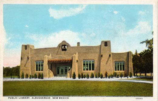 Public Library, Albuquerque, New Mexico