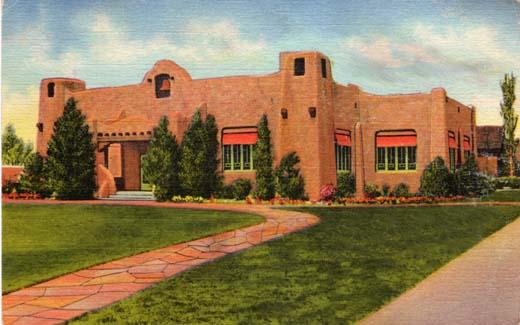 Public Library, Albuquerque, New Mexico- 1936