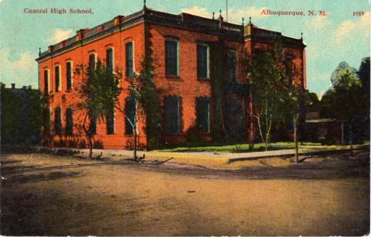 Central High School, Albuquerque, N. M.