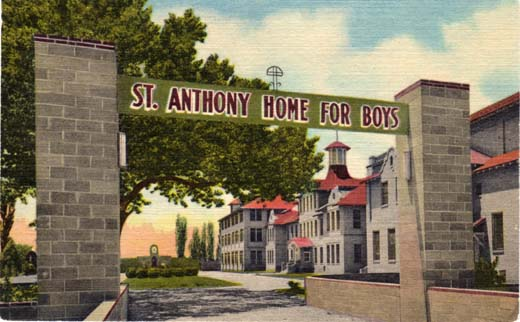 St. Anthony Home For Boys, Albuquerque, N. Mex.