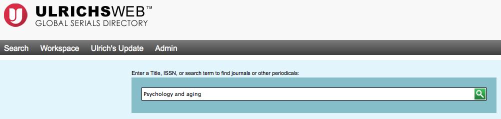 screen cap of ulrich's search