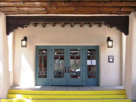 Entrance facing south