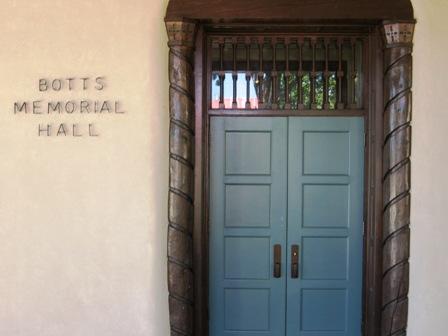Botts Hall exterior