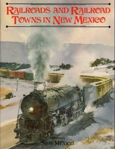 Clark Railroads and Railroad Towns New Mexico cover