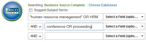 Business Source Complete Search Example