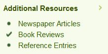 Include Book Reviews in your results [Image: UniSA Library]