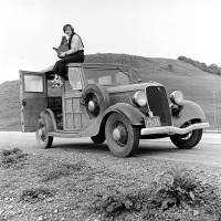 [Ronald Partridge for the Farm Security Administration, 1936, 'Dorothea Lange 1936', public domain, Image source: Wikimedia Commons (http://commons.wikimedia.org/wiki/File:Dorothea_Lange_1936.jpg)]