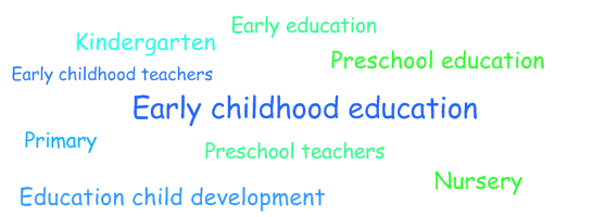 Early childhood education keywords
