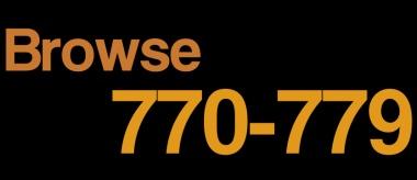 Browse around Dewey 770-779 [Image Source: UniSA Library]