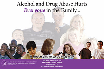 Poster for alcohol awareness campaign