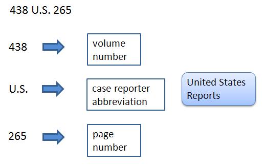 Legal citation for a case