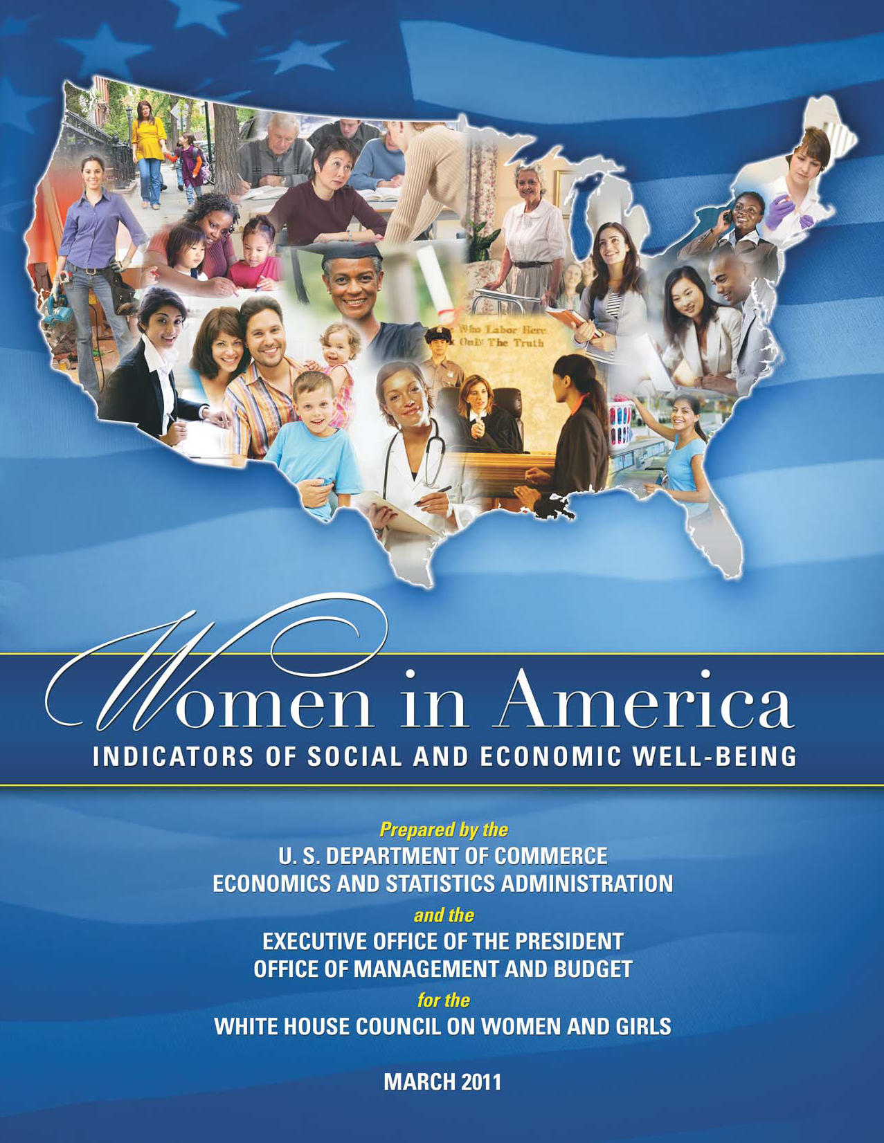 Women in America book cover