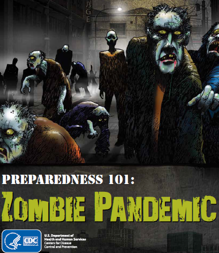Zombie Pandemic graphic novel