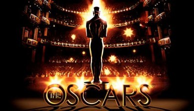 Image of Academy of Motion Picture Arts and Sciences Oscar in theater