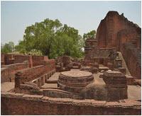 Nalanda University Library ruins