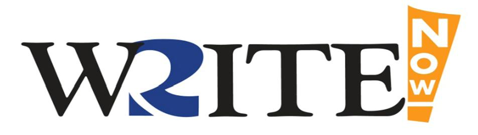 Write Now logo
