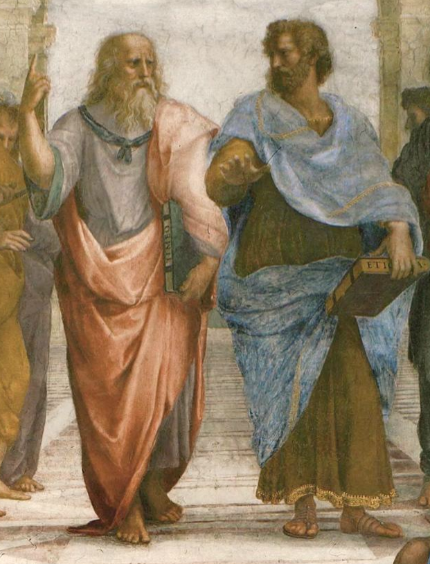Detail of Raphael, School of Athens