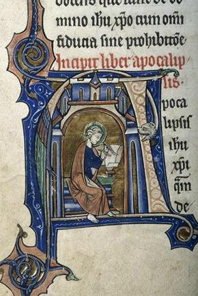 St. John, Apocalipsis, Sweetheart Abbey Bible