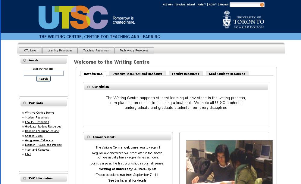 Writing Centre citation guides