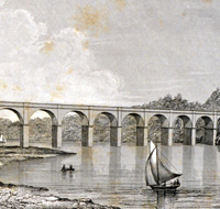 Croton Aqueduct over the Harlem River.