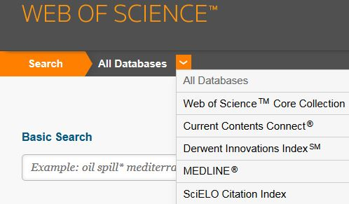 Access Web of Science Core Collection