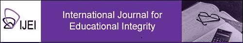 International Journal of Educational Integrity, Source: http://www.ojs.unisa.edu.au/index.php/IJEI