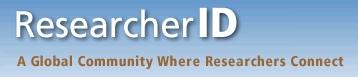 ResearcherID logo [Image source: www.researcherid.com/]