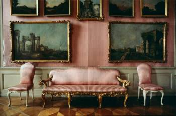 Salon with Pink Satin Tapestry, Schloss Sanssouci