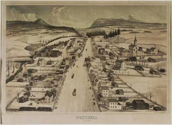 Poestenkill New York: Frederick Law Olmsted