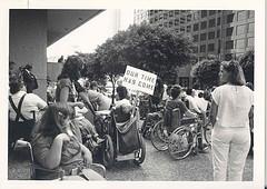 ADA metro demonstration photo