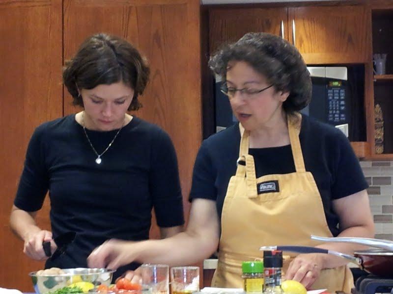 Mediterranean cooking event photo