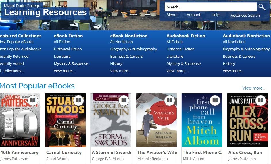 OverDrive Digital Media Library
