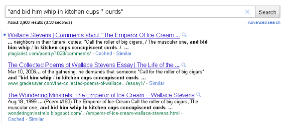 """and bid him whip in kitchen cups * curds"""