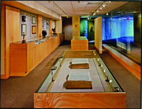 A&SC exhibit area