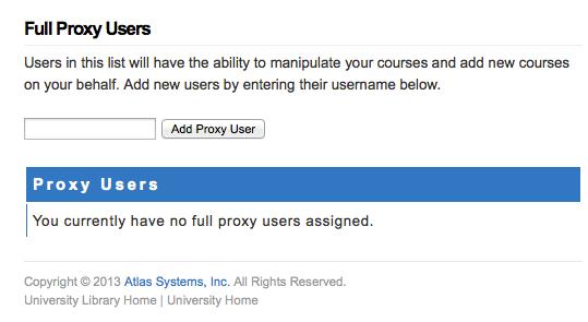 Full Proxy Users