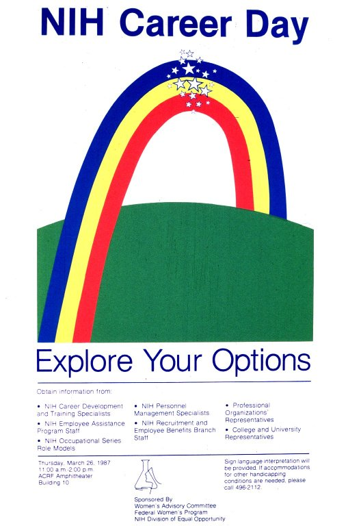 NIH Career Exploration Poster