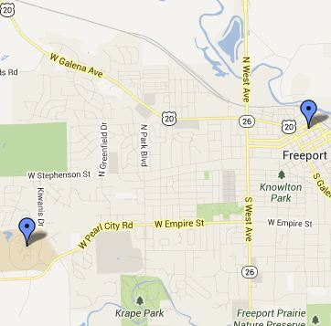 Freeport Small Map