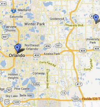 Select Orlando Area Libraries