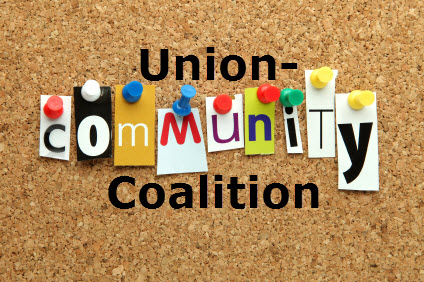 Union-community coalition