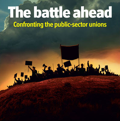 Public  sector unions under attack