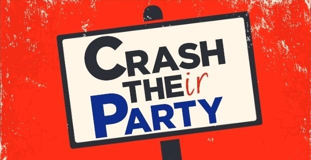 crash their party