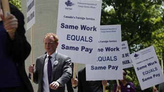 Canada's Foreign Service Officers Strike 2013