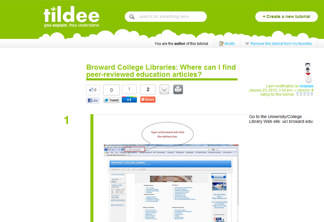 How to find peer-reviewed education articles tutorial