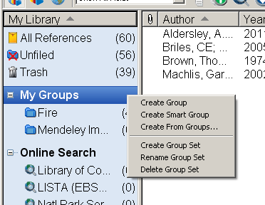 Endnote-Groups